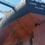 M/V Cape Maria repair in Blohm + Voss